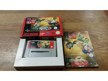 EARTH WORM JIM 2 KOMPLETT SNES