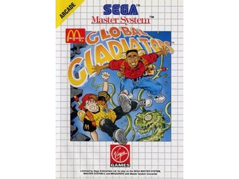 Global Gladiators - Master System - Varberg - Global Gladiators - Master System - Varberg