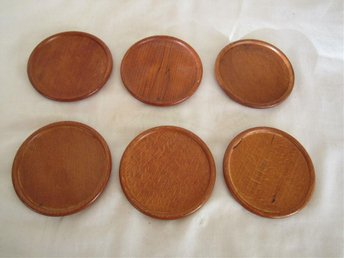 BORDS BRICKOR COASTERS 6st MASIV TEAK