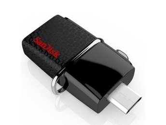 SanDisk Ultra DUO 64 Gb USB 3.0 minne OTG 150 Mb/s