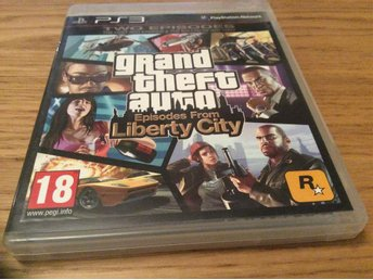 GRAND THEFT AUTO EPISODES FROM LIBERTY CITY GTA PLAYSTATION 3 PS3