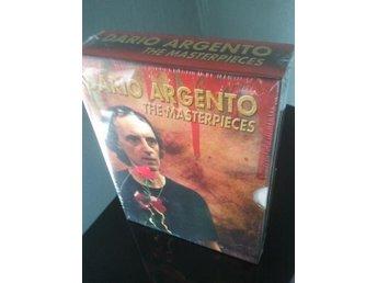 DARIO ARGENTO MASTERPIECES *Boxset* 4-Digipack *Uncut* OOP!! - Tumba - DARIO ARGENTO MASTERPIECES *Boxset* 4-Digipack *Uncut* OOP!! - Tumba