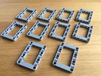 LEGO Technic - Liftarm 5x7 Open Center Frame - 10 stycken - Göteborg - LEGO Technic - Liftarm 5x7 Open Center Frame - 10 stycken - Göteborg