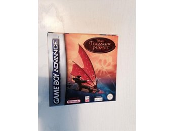 Game Boy Advance  spel  Treasure planet  Disney ( Nintendo ) Komplett! Fint!!