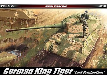 Academy 1/35 German Kingtiger 'Late Production'