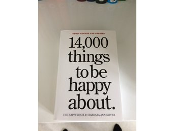 """14 000 things to be happy about"". - Karlstad - ""14 000 things to be happy about"". - Karlstad"