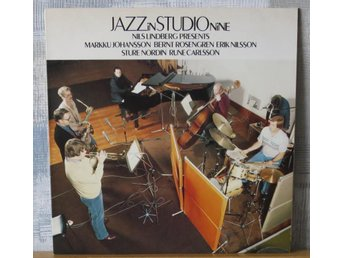 JAZZ IN STUDIO NINE    :: Nils Lindberg med flera  (LP)