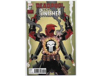 Deadpool vs. The Punisher # 4 NM Ny Import