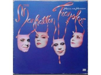The Manhattan Transfer title* Mecca For Moderns* JAzz,pop LP UK