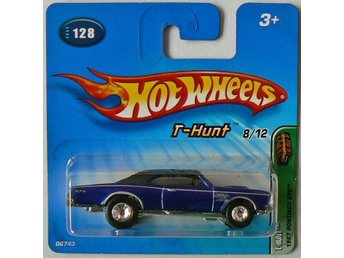 1967 Pontiac GTO Hot Wheels Nr128 2005 Treasure Hunt T-Hunt 8/12