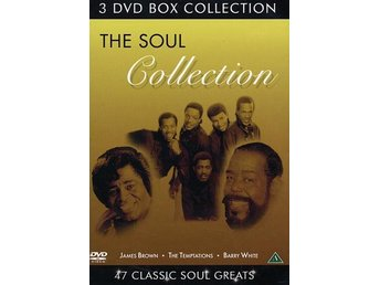 Soul Collection (James Brown/Barry White/etc) (3 DVD)