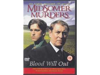 Midsomer Murders Blood Will Out 1998 DVD