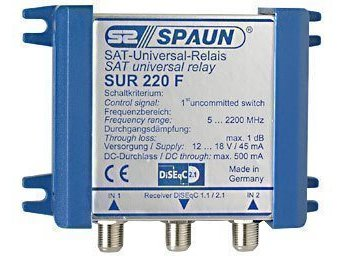 Spaun Diseqc switch SUR 220 F