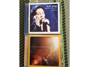 K.D. Lang-Live by request/Invincible summer  2CD