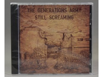The Generations Army - Still Screaming - CD - 2016 - Trashmetal - Sweden