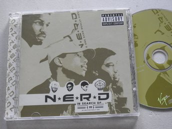 N*E*R*D - In Search Of... CD 2002 Hip Hop Rap Provider Baby Doll Stay Together