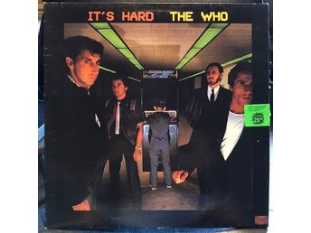THE WHO - IT´S HARD SWE LP -82