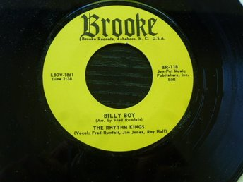 Rhythm KINGS - Billy boy/Boppin guitar  Brooke USA -70 tal?