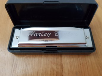 Harley Benton Blues Harmonica in A-Major / A-Dur- NYTT MUNSPEL