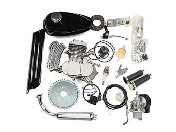 Bike Engine Accessories Set 80cc 2 Cycle Motorcycle Muffler Motorized NEW