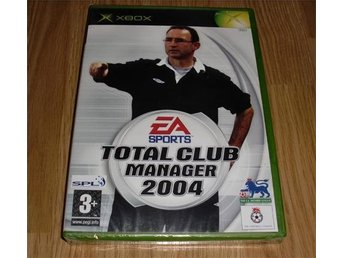 Xbox: Total Club Manager 2004 (ny)