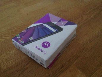 Motorola Moto G 3 LTE 16GB (Black) - Strömsund - Motorola Moto G 3 LTE 16GB (Black) - Strömsund