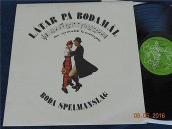 BODA SPELMANSLAG - Låtar på Bodamål, Folkmusik Dalarna Giga GLP-3, LP 1979 - Gävle - BODA SPELMANSLAG - Låtar på Bodamål, Folkmusik Dalarna Giga GLP-3, LP 1979 - Gävle