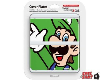 Nintendo New 3DS Cover Plates Luigi (002)