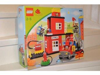 LEGO Duplo Ville 4664 - BRANDSTATION - Skillingaryd - LEGO Duplo Ville 4664 - BRANDSTATION - Skillingaryd