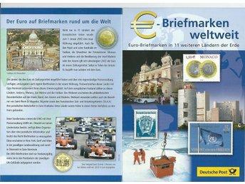 2002 Euro-Briefmarken in 11 weiteren länder der Erde - Växjö - 2002 Euro-Briefmarken in 11 weiteren länder der Erde - Växjö