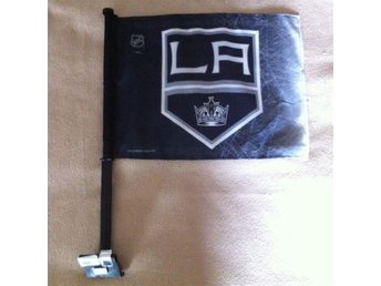 Los Angeles Kings bil flagga HELT NY! ishockey NHL hockey bilflagga L.A.