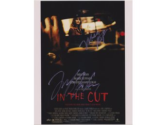 IN THE CUT - MEG RYAN MINI POSTER PRE-PRINT AUTOGRAF FOTO