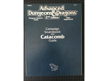 AD&D Campaign sourcebook and catacomb guide DMGR1 2112 (gradering: Very Fine+)