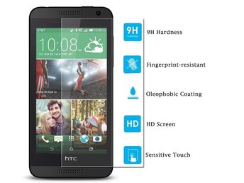 9H Tempered Glass Screen Protector Film for HTC Desire 610