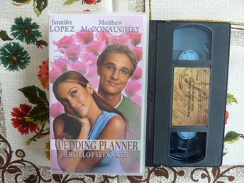 THE WEDDING PLANER, VHS, ROMANTISK KOMEDI, VIDEOKASSETT, FILM