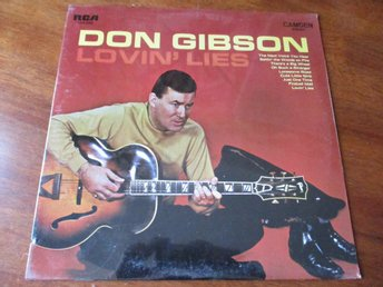 DON GIBSON - Lovin' Lies, LP RCA Camden USA 1970 SEALED
