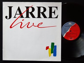 JEAN-MICHEL JARRE (M-) / Jarre Live / Vinyl LP Germany 1989 / A TOP COPY