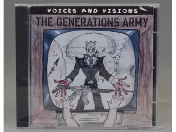The Generations Army - Voices and Visions - CD/EP - 2018 - Trashmetal - Sweden