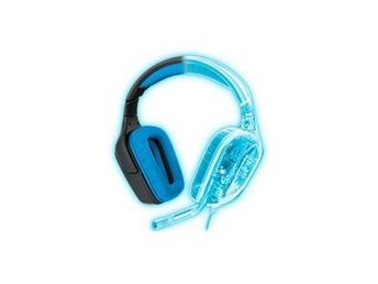 Logitech Headset Microphone Over-Ear USB Extern 2.33 m Svart/Blå