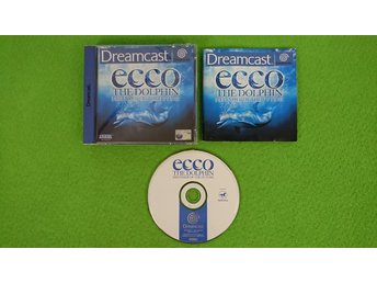 Ecco The Dolphin Defender fo the Future KOMPLETT Sega Dreamcast