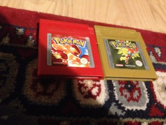 Pokemon Red & Pokemon Gold