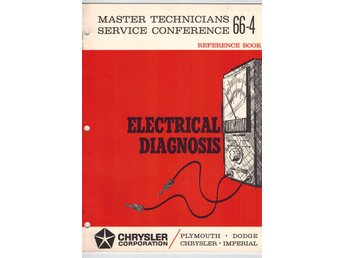 Chrysler + Mopar 1966 SRB_bok nr 4:  Electrical diagnosis
