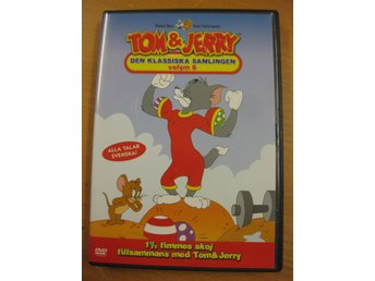 TOM & JERRY - DEN KLASSISKA SAMLINGEN VOLYM 8  - DVD