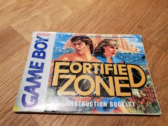 Fortified Zone SCN Manual GAME BOY