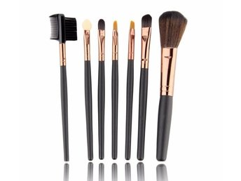 7st Make Up Borstar Väska Professional Make up Brushes - Hong Kong - 7st Make Up Borstar Väska Professional Make up Brushes - Hong Kong