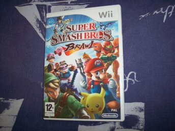 Super Smash Bros Brawl Nintendo Wii Pal Nyskick
