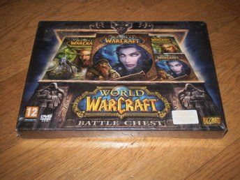World Of Warcraft Battle Chest HELT NYTT INPLASTAT