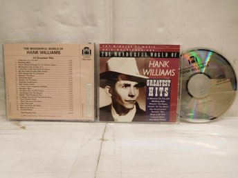 HANK WILLIAMS - THE WONDERFUL WORLD OF - GREATEST HITS