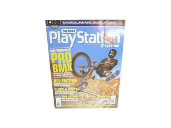 Svenska Playstation Magasinet Nr 44 Juni 2001
