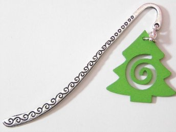 Julgran bokmärke / Christmas tree bookmark